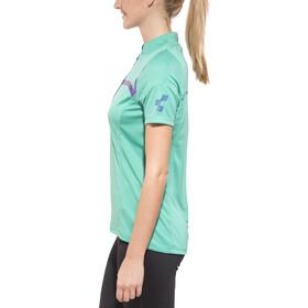 Cube Motion WLS Bike Jersey Shortsleeve Women turquoise